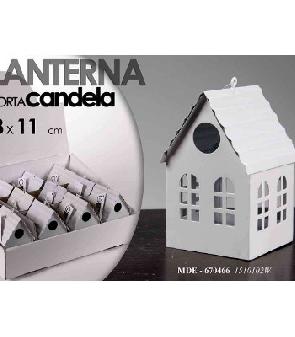 CASETTA BIANCA PCANDELA 11CM