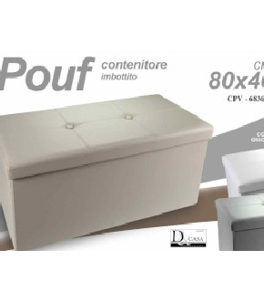 POUF CONTENITORE 80X40 ASS