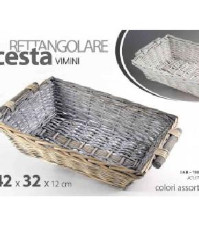 CESTINO RETTANGOLARE 42X32X12