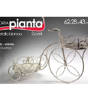 BICI P.PIANTE 62X28X43 CM.