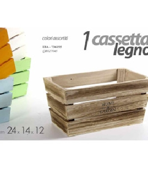 CASSETTA  ASSORTITA CM.24X14X12