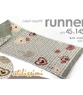 RUNNER 45X145CM ASS