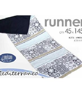 RUNNER 45X145 CM MEDITERRANEO
