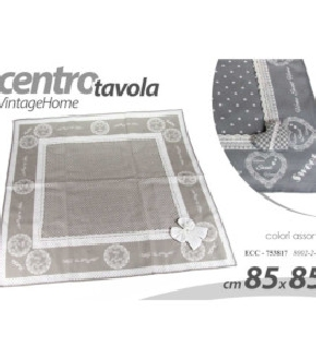 ECC/C.TAVOLA ROMAN.AS 85*85CM 8002/3/4-1
