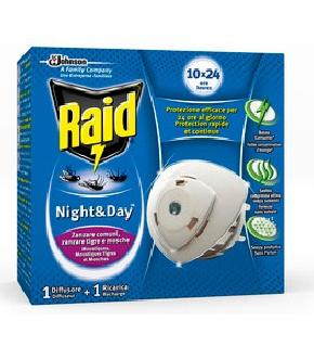 RAID NIGHTDAY ZANZARE 1BASE1RICARICA