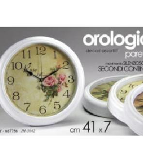 OROLOGIO 41X41X7CM ASS