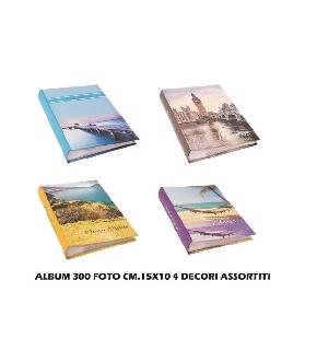 ALBUM 300FOTO CM15X10 ASS4DEC