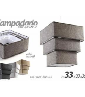 LAMPADARIO ASS. E27 40W 33X36