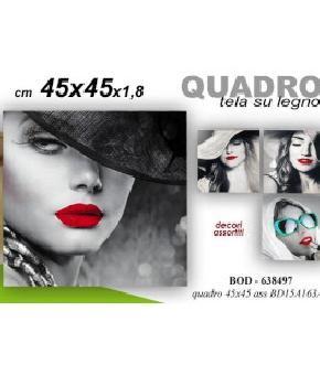 QUADRO ASS  45X45X1,8CM