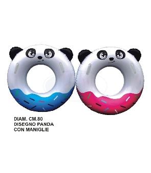 CIAMBELLA DIAM80 DEC PANDA CON MANIGLIE