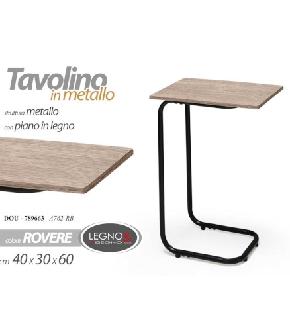 TAVOLINO LAT COLORE ROVERE 40*30*60CM