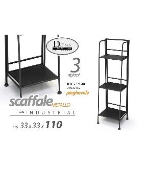 RTE/SCAFFALE NERO 35*30*109     YH181682