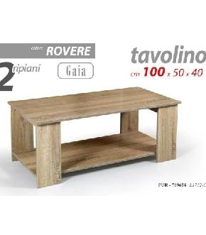 PUR/TAVOLINO GAIA 100*50*40    L1712-OAK
