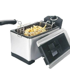Russell Hobbs 19773-56 Cook@Home - Friggitrice Semi-Professionale, 1800 W