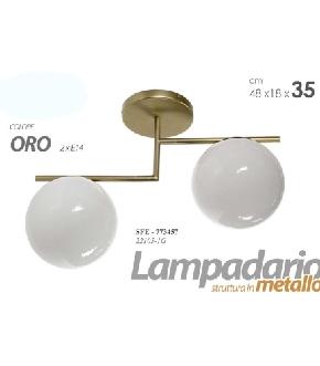 LAMPADA 2X25W E14 48X18X35