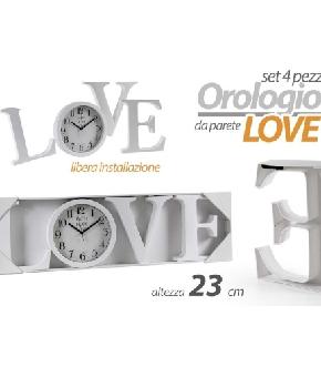 OROLOGIO LOVE 23CM