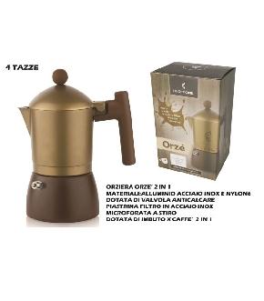 ORZIERA 4 TZ. + IMBUTO X CAFFETTIERA
